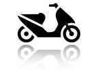 Moped ikon